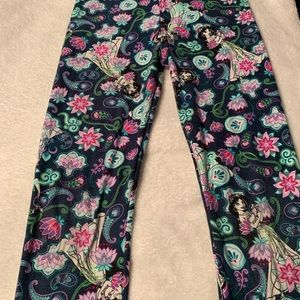 LuLaRoe Bottoms - Disney jasmine leggings